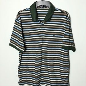 Ralph Lauren Polo striped cotton size large